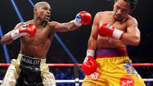 Floyd Mayweather says he is coming out of retirement to fight Manny Pacquiao in 'nine-figure' deal