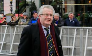 Apology: Séamus Woulfe has apologised for attending               the event, but says any public-health breach on his part               was unintentional. Photo: Gareth Chaney, Collins