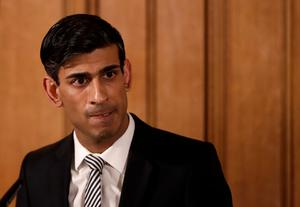 British chancellor Rishi Sunak. Photo: Reuters