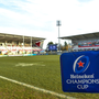 18 January 2020; A general view of a sidelane flag prior to the Heineken Champions Cup Pool 3 Round 6 match between Ulster and Bath at Kingspan Stadium in Belfast. Photo by Oliver McVeigh/Sportsfile