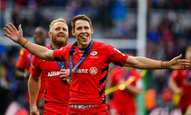 Liam Williams Liam Williams is set to return to the Scarlets this season as Saracens look to reduce their wage bill. Photo by Brendan Moran/Sportsfile