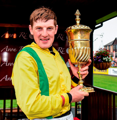 Fox: Shone aboard Rogue Angel in yesterday's Kerry National