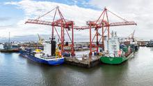 Dublin Port (Stock photo)