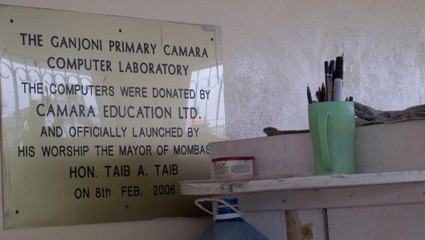 Ganjoni Primary School was one of the first schools in Kenya to receive computers from Camara (Photo: Denise Calnan)