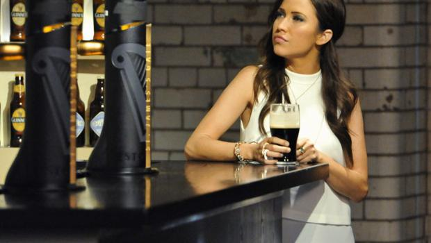 Bachelorette Kaitlyn in Dublin. Picture: ABC