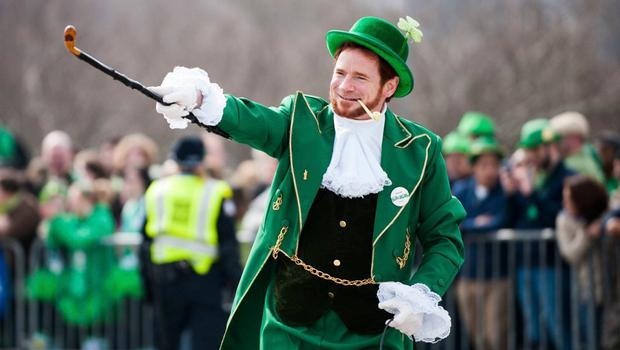 Distraught: The St Patrick's Day parade has been held in Washington since 1971 and would have staged its 50th next year