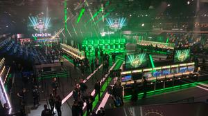 The show floor at X019 in the Copper Box Arena in London was packed with playable games