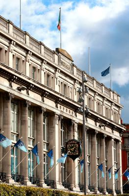 The iconic Clerys clock Picture Credit: Frank Mc Grath
