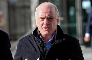 Former CEO of Anglo Irish Bank, David Drumm. Photo: Collins Courts