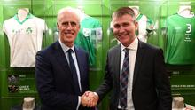 Mick McCarthy says it's only fair that Stephen Kenny takes over now