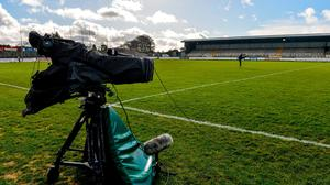 In the picture: Cameras can be at local matches but due to rights issues, live streaming of club action cannot clash with live games on RTÉ and TG4. Photo: Piaras Ó Mídheach/Sportsfile