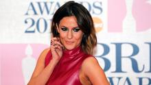Television presenter Caroline Flack arrives for the BRIT music awards at the O2 Arena in Greenwich, London, February 25, 2015. REUTERS/Suzanne Plunkett/File Photo