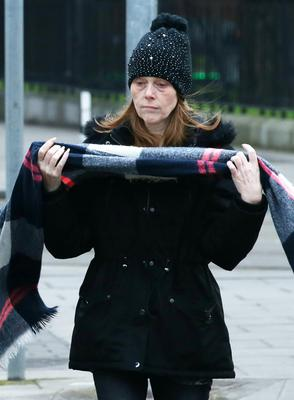 Louise O'Connor has been found guilty of impeding her mother's killer Kieran Greene's prosecution Pic Collins Courts