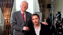 Hozier was interviewed by Gay Byrne for The Meaning of Life.  Pic: RTE
