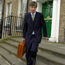 Beyond the green door: John Delaney leaves the FAI offices in Merrion Square having been confirmed as the new CEO in March 2005. Picture credit; Ray McManus / Sportsfile