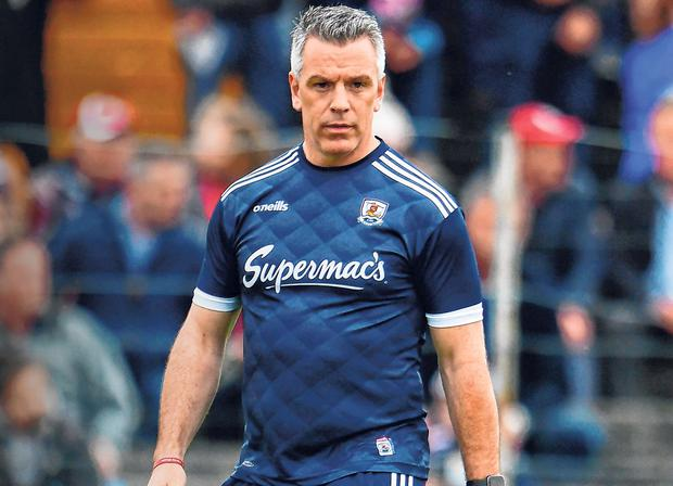 Pádraic Joyce takes over the senior reins following the progress with Galway's U-20s. Photo: Sam Barnes/Sportsfile