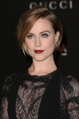 Actress Evan Rachel Wood attends the 2014 LACMA Art + Film Gala honoring Barbara Kruger and Quentin Tarantino presented by Gucci at LACMA
