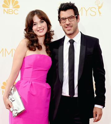 Zooey Deschanel and husband Jacob Pechenik