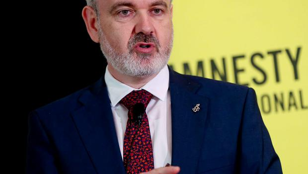 Colm O'Gorman of Amnesty International pictured at the launch of a new major report into abortion