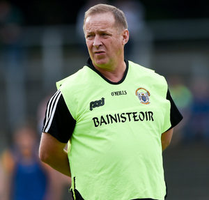 Veteran: Clare football manager Colm Collins is in his seventh season at the helm. Photo: Sportsfile