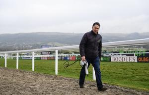 Trainer Henry de Bromhead on Day One of the 2018 Cheltenham Racing Festival at Prestbury Park in Cheltenham, England. Photo: Ramsey Cardy/Sportsfile