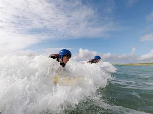 Coláiste Uisce usually offers surfing and sailing courses but has had to rethink this year due to Covid-19