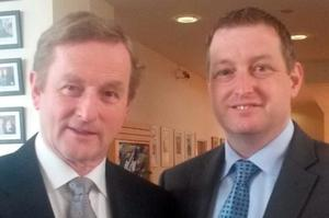 Lesson from the past: Enda Kenny and former Senead candidate John McNulty