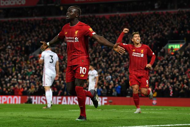 Sadio Mane was on target for Liverpool once again as they beat Sheffield United Getty