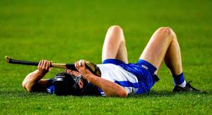 Waterford's Kevin Moran reacts after his team's defeat against Limerick in the Munster SHC final last weekend. Photo: Ray McManus/Sportsfile