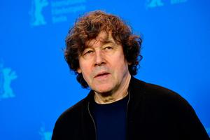 """Irish actor Stephen Rea poses during a photocall before a press conference to present the film """"Black 47"""" in competition during the 68th Berlinale film festival on February 16, 2018 in Berlin. TOBIAS SCHWARZ/AFP/Getty Images)"""
