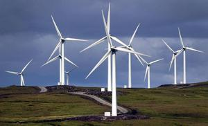 Castlepook Wind Farm will generate enough power for approximately 17,000 households annually.