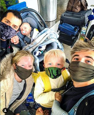 Chef Donal Skehan and his family are back home in Dublin