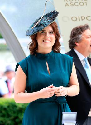 Princess Eugenie in the winners enclosure during day three of Royal Ascot at Ascot Racecourse