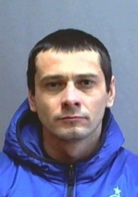 Sergei Pomazun, a former convict who is the main suspect of a shooting on April 22, 2013 in Belgorod.