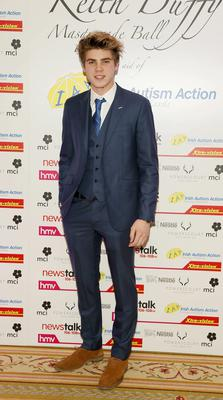 Jay Duffy at the 8th Annual Keith Duffy Masquerade Ball in aid of Irish Autism Action held at the Powerscourt Hotel