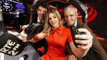 'Game On' presented by Marie Crowe, Donncha O'Callaghan and Ruby Walsh on 2FM'. Photo: Andres Poveda
