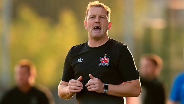 There was no love lost between Dundalk boss Vinny Perth (pictured) and Waterford manager John Sheridan. Photo: Stephen McCarthy/Sportsfile