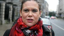 Mary Lou McDonald .Picture: Tom Burke