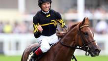 Frankie Dettori on Undrafted celebrates winning the 4:20 Diamond Jubilee Stakes Action Images via Reuters / Matthew Childs Livepic