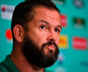 Andy Farrell says Samoa are an expansive side with excellent footwork. Photo: Brendan Moran/Sportsfile