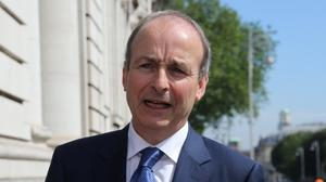 Micheal Martin has agreed a deal with Leo Varadkar and Eamon Ryan. Photo: Gareth Chaney/Collins