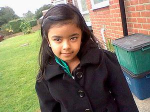 BEST QUALITY AVAILABLE  Undated handout photo issued by the Metropolitan Police of Ayesha Ali, as mother Polly Chowdhury, 35, and her lesbian lover Kiki Muddar were found guilty of killing the eight-year-old after getting caught up in a twisted romance revolving around fictional Facebook characters. PRESS ASSOCIATION Photo. Issue date: Wednesday March 4, 2015. Chowdhury and Muddar were on trial at the Old Bailey for the murder of the Chowdhury's daughter Ayesha Ali at their home in Chadwell Heath, east London, in August 2013. See PA story COURTS Ayesha. Photo credit should read: Metropolitan Police/PA Wire  NOTE TO EDITORS: This handout photo may only be used in for editorial reporting purposes for the contemporaneous illustration of events, things or the people in the image or facts mentioned in the caption. Reuse of the picture may require further permission from the copyright holder.