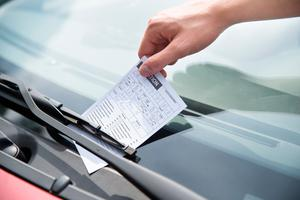 'The person amassed 349 parking tickets, with an average of €60 owing on each.' (stock photo)