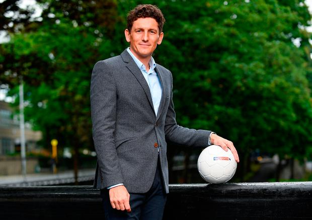 Keith Andrews at a preview of Sky Sports' coverage of the Premier League season, which kicks off with Arsenal v Leicester on August 11. Photo by Sam Barnes/Sportsfile