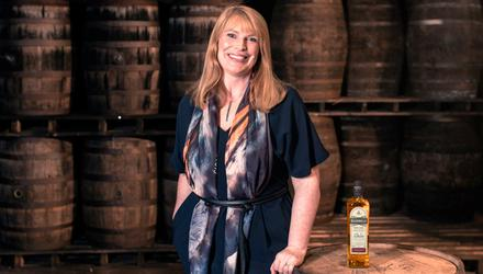 Honoured: Bushmills master blender Helen Mulholland has spent 25 years with the distillery