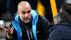 City boss Pep Guardiola. Photo: Nick Potts/PA Wire
