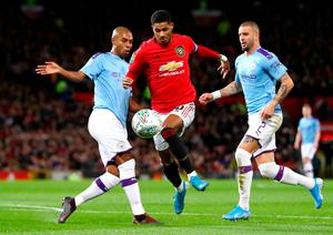 Marcus Rashford scored the goal that gives Manchester United some hope for the second leg in three weeks