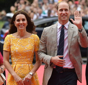'With Brexit, some conflict along the way is inevitable. But as today's visit of Prince William and his wife Kate shows, we should always have more in common than we do apart.' Photo: Getty Images