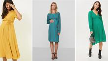 Stylish maternity dresses for wedding guests on THEVOW.ie