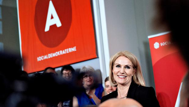 Denmark's Prime Minister Helle Thorning-Schmidt is pictured in Copenhagen, Denmark, early June 19, 2015. Denmark's Prime Minister Helle Thorning-Schmidt conceded defeat and quit as head of her Social Democrat Party after voters swung to the opposition center-right in a parliamentary election on Thursday. REUTERS/Bax Lindhardt/Scanpix Denmark